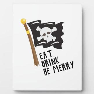 Be Merry Photo Plaque
