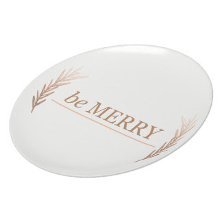 be Merry Plate