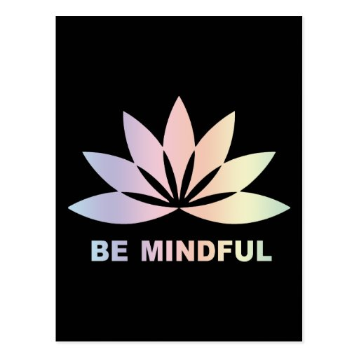 Be Mindful Post Card