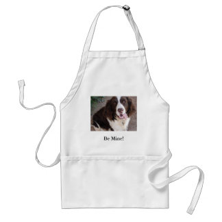 Be Mine!  All The Time! Adult Apron