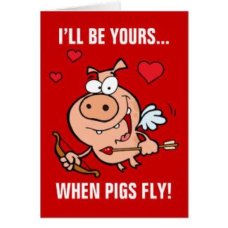 Be Mine Anti-Valentine's Card