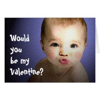 Be Mine, Baby Valentine Card
