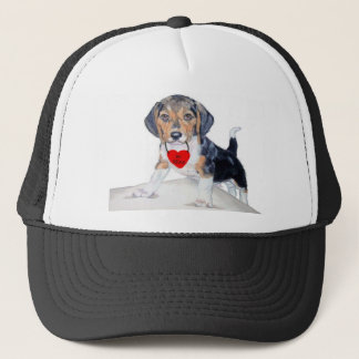 Be Mine Bagel the Beagle Hat