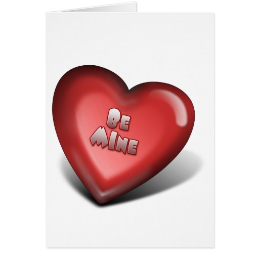Be MINE Cards