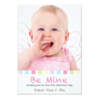 Be Mine | Colorful Squares | Valentine Card