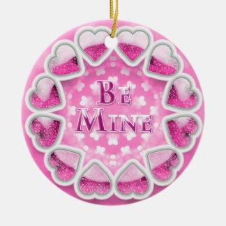 Be Mine - Cute Hearts Ornament