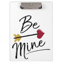 Be mine Cute Valentines Clipboard