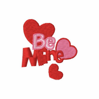 Be Mine Embroidered Customizable Valentine Tees