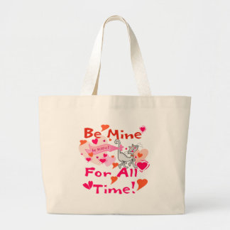 Be Mine for All Time Canvas Bag