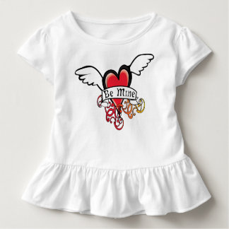 Be Mine for Daddy's Little Girl Toddler T-shirt