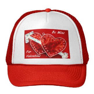 Be Mine For Valentine Trucker Hat
