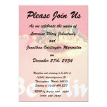 Be Mine Frog close up photograph 5x7 Paper Invitation Card