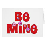 Be Mine Greeting Cards