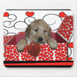 BE MINE - I WUF YOU - I LOVE YOU - PUPPY VALENTINE MOUSEPADS