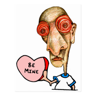 Be+Mine Insomniac Post Card