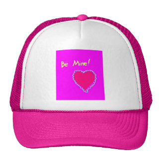 Be Mine! Love Heart Trucker Hat