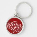 Be Mine Love Keychain