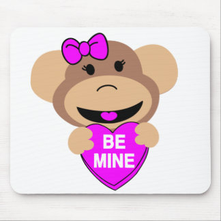 be mine monkey. mouse pad