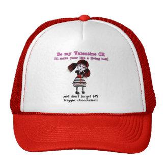 Be Mine Or Else Mesh Hat