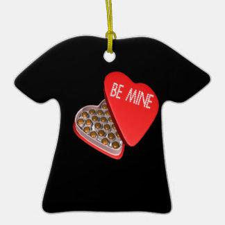 Be Mine Christmas Ornaments