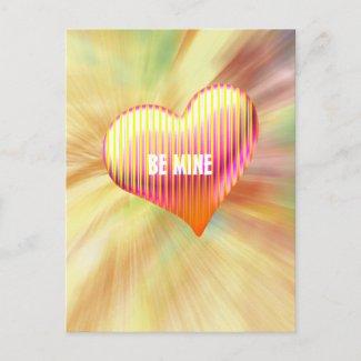 Be Mine - Postcard postcard