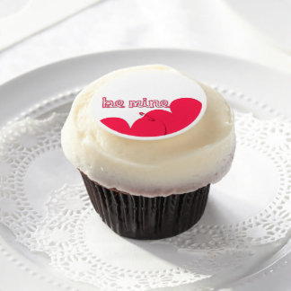Be Mine St Valentine's Day Frosting Edible Frosting Rounds