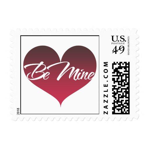 Be Mine Stamp