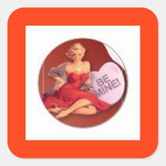Be Mine Sticker