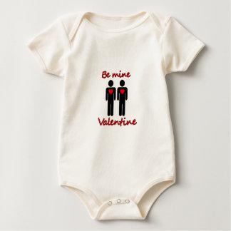 Be mine Valentine Baby Bodysuit