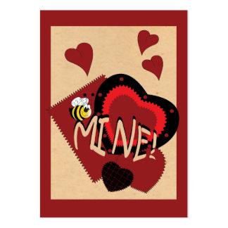 Be Mine, Valentine Business Card