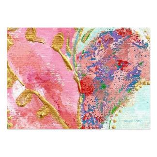 'be mine' valentine business cards