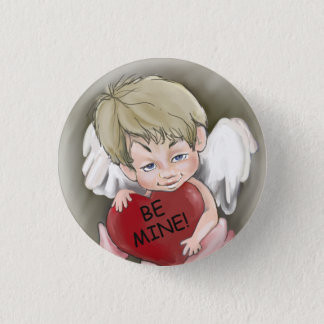 Be Mine Valentine Button