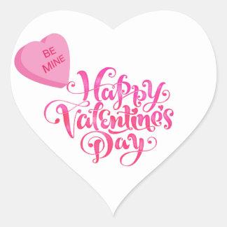 Be Mine - Valentine Heart Sticker