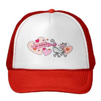 Be Mine Valentine Kitty Cat Hat