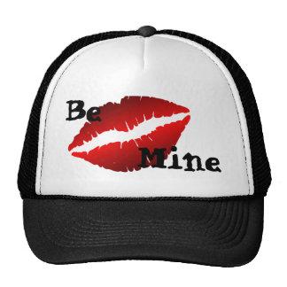 Be Mine Valentine Lips Trucker Hat