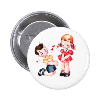Be Mine - Valentine Pinback Button