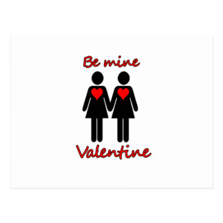 Be mine Valentine Postcard