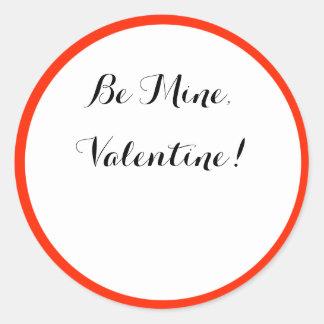 Be Mine, Valentine! sticker