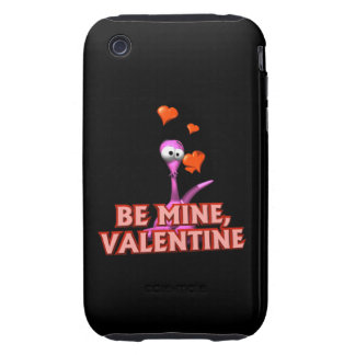 Be Mine Valentine Tough iPhone 3 Covers