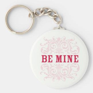 Be Mine Valentine's Day Keychain