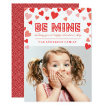 Be Mine - Valentine's Day Photo Card