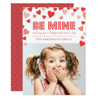 Be Mine - Valentine's Day Photo Card