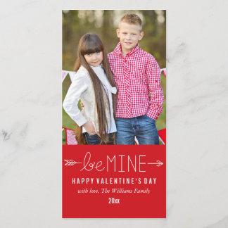 Be Mine   Valentine's Day Photo Cards
