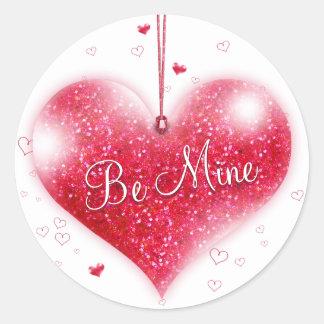 Be Mine Valentine's Day Sticker