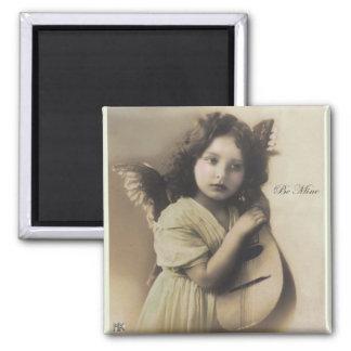 Be Mine Vintage Valnetine Cupid Magnet