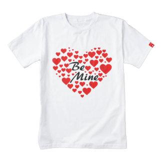 Be Mine Zazzle HEART T-Shirt
