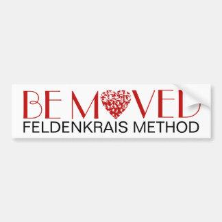 Be Moved Bumper Sticker | Feldenkrais Method