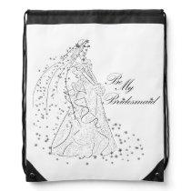 Be My Bridesmaid Gift Wrap Bag