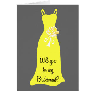 Be my Bridesmaid? Greeting Card