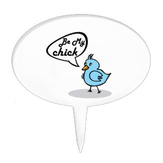 Be My Chick Cake Picks